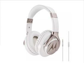Fone De Ouvido Motorola Pulse Max Com Microfone Branco