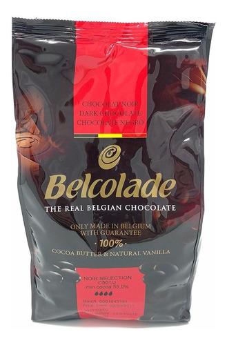 Chocolate Belga Belcolade Amargo 1kg