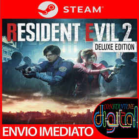 Resident Evil 2 Remake Deluxe Edition Pc Original Steam