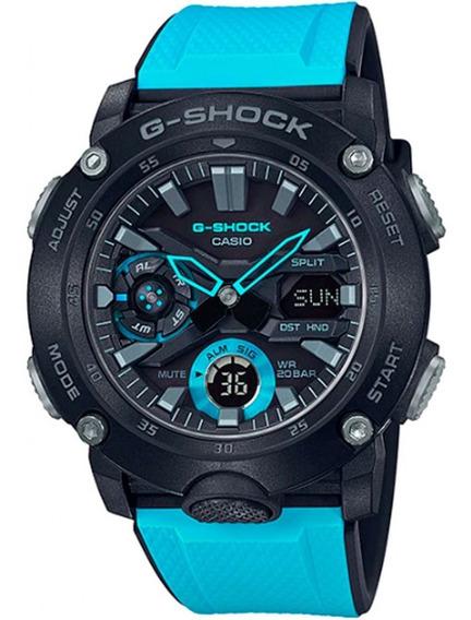 Imperdível Relógio G-shock Ga-2000-1a2dr Carbon Core Guard