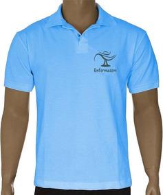 Blusa Polo Bordado Enfermagem - Alta Qualidade