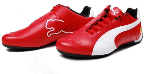 Tenis Puma Ferrari Red (piel Vacuno) Envio Gratis