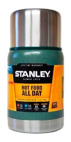 Termo Stanley Adventure 0.709 L Viandera Acero Inox. Escolar