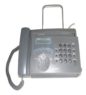 Telefone E Fax Sharp Ux-44 Telefone Perfeito Estado