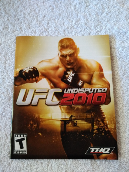 Manual Do Game Ufc 2010 Undisputed Ps3 **** Leia