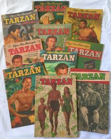 Lote Com 10 Gibis Tarzan - Nº 21 A 30 -1ª Série - Fac-símile