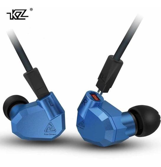 Fone Kz Zs5 8 Drives Retorno De Palco Profissional + Bag