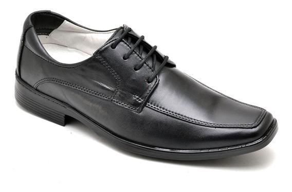 Sapato Anti Stress Couro Carneiro Legítimo Social Masculino