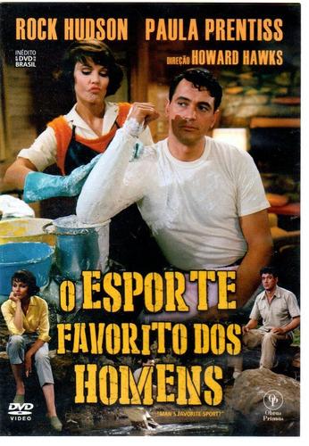 Dvd O Esporte Favorito Dos Homens - Opc  Bonellihq L19