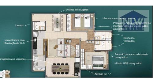 Apartamento À Venda, 93 M² Por R$ 986.947,00 - Água Branca - São Paulo/sp - Ap1037