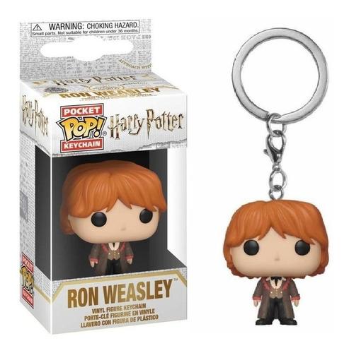 Funko Pop - Harry Potter  Luna Hermione Keychain Ron Llavero