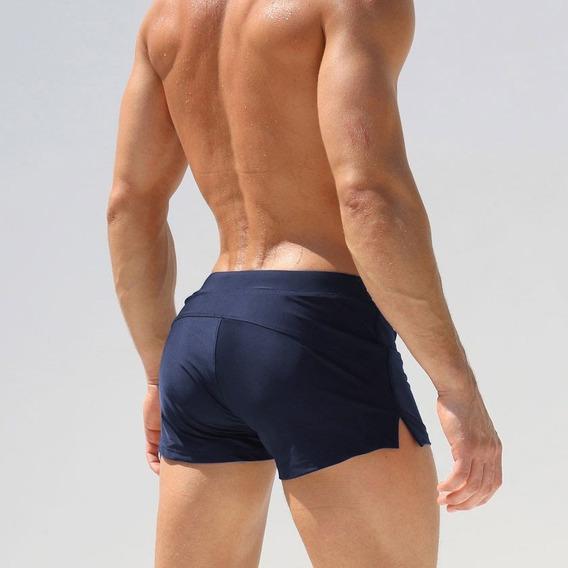 Promoção - Sunga Praia Masculina Short Moda * Azul Moderna