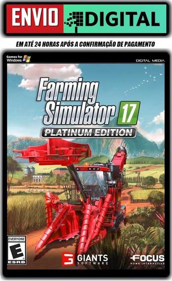 Farming Simulator 17 Platinum Edition [pc] Envio Digital
