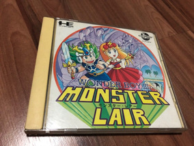 Wonder Boy 3 - Pc Engine Completo - Cd Rom