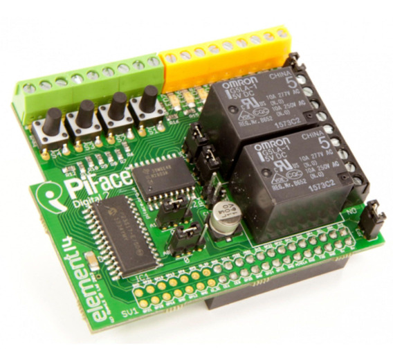 Raspberry Pi Piface Digital 2 Element14 Placa Expansion