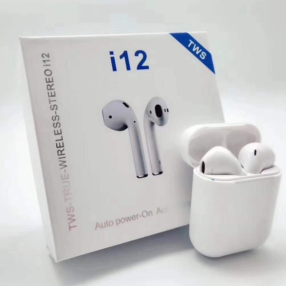 Audífonos Inalámbrico I12 Tws I9 AirPods Bluetooth (20verds)