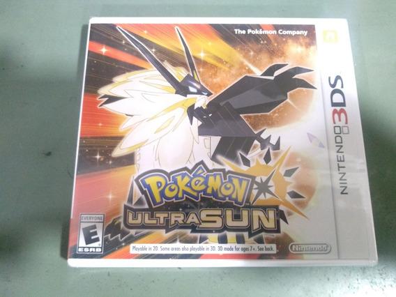 Jogo Pokémon Ultra Sun Nintendo 3ds Novo Lacrado Aproveite!!