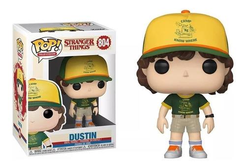 Funko Pop! Dustin #804 Stranger Things Netflix Temporada 3