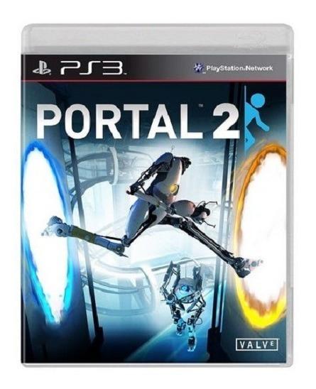 Jogo Portal 2 Ps3 M. Fisica