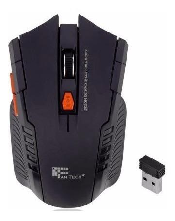 Mouse Sem Fio Gamer Wireless Notebook Pc Lol Wow Csgo Cross