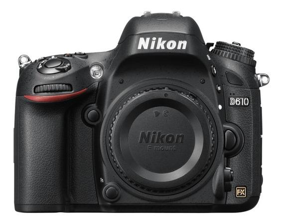 Camera Nikon D610 (só Corpo) - Super Conservada