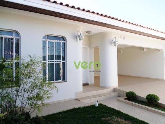Casa Residencial Para Locação, Jardim Colina, Americana. - Ca0053