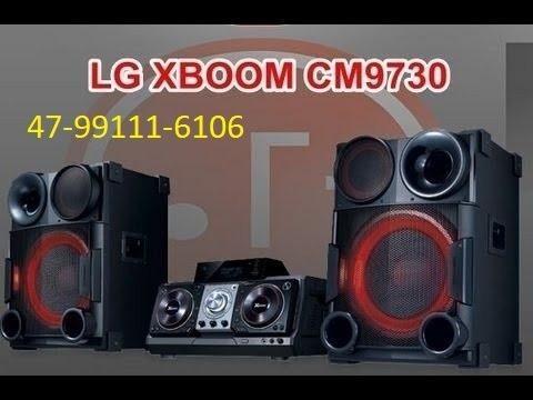 Som Lg Xboom Cm9730 2000 Rms, Forte.