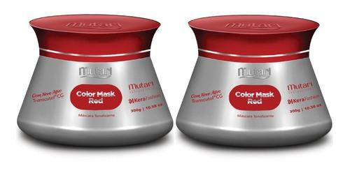 Imagem 1 de 3 de 2 Mascara Tonalizante Mutari Red Matizador Red Mutari 2x1