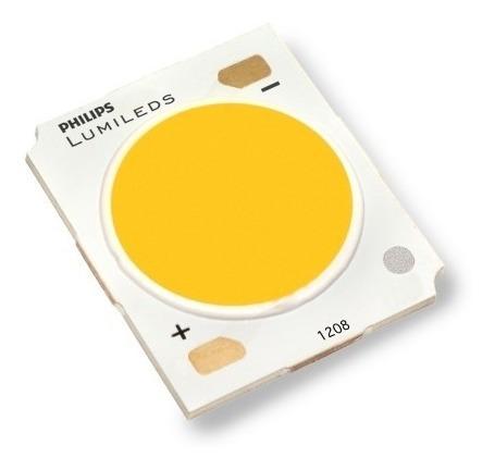 Chip Led Cob Philips Lumiled 50w Reposição Refletor Branco F