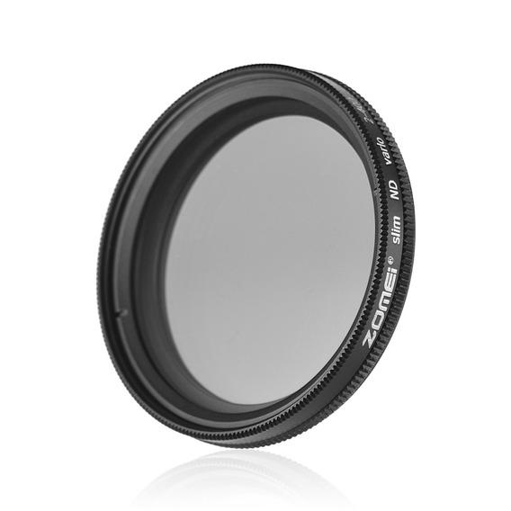 Zomei 40.5mm Ultra Slim Fader Varivel Nd2-400 Nd Neutro