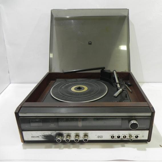 Rádio Vitrola Philips 853 Necessita Manutenção