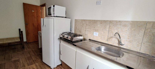 Imagem 1 de 20 de Kitnet Com 1 Dormitório Para Alugar, 17 M² Por R$ 1.100,00/mês - Bangu - Santo André/sp - Kn0117