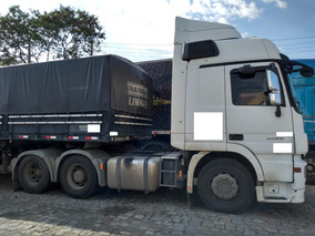 Mb 2546 Actros 6x2 Ano 2012 Único Dono (motor 350 Mil Km)