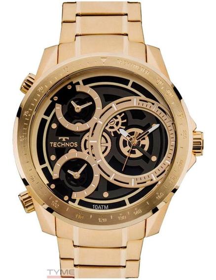 Relógio Technos Masculino Legacy Extra Gde 2035mla/4p C/ Nfe