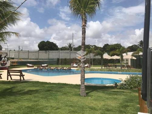 Lote À Venda Jardins Das Dunas, 253 M², Condomínio Fechado, Financia - Mangabeira - Eusébio/ce - Te0160
