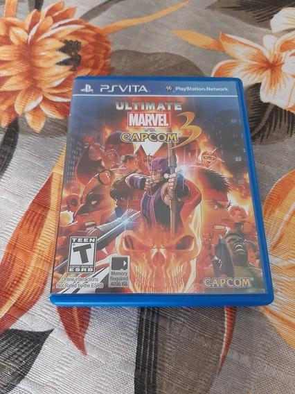 Ultimate Marvel Vs Capcom Ps Vita 100,00 R$