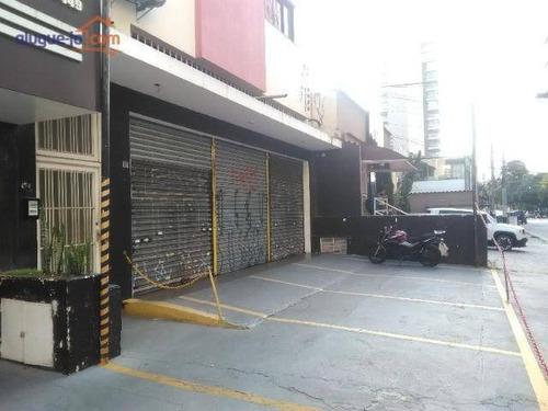 Salão Para Alugar, 270 M² Por R$ 9.000/mês - Vila Cordeiro - São Paulo/sp - Sl0102