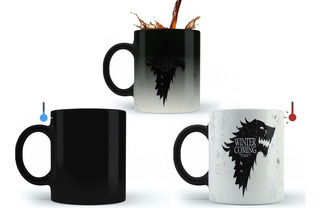 Caneca Mágica Game Of Thrones Stark Winter Is Coming Oferta!