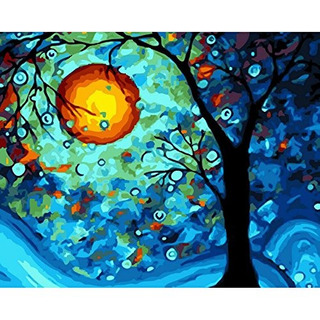 Faraway Van Gogh Dream Tree Pintura Al Óleo Por Números Pint