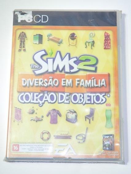The Sims 2 Coleção Diversão Em Familia Pc Game Original Novo