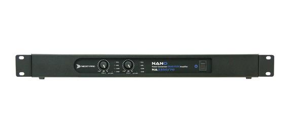 Amplificador De Potência Nano Na 2350 70v - Next Pro