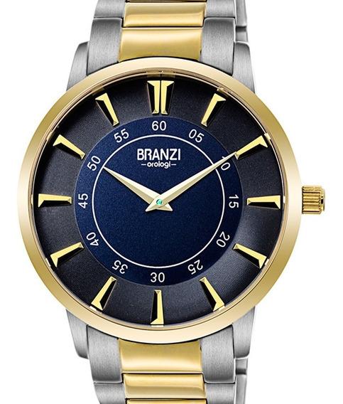 Reloj Hombre Branzi By Citizen 21031 Cuarzo Acero En 2 Tonos