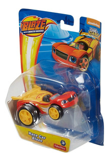 Carro Blaze De Carrera Monster Machine Nickelodeon
