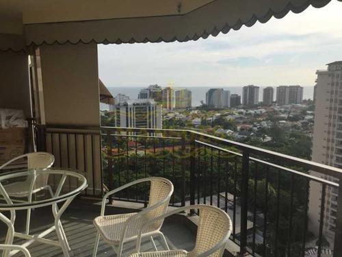 Apartamento 1 Quarto,  1 Vaga, Rosas, Barra Da Tijuca - Abap10022