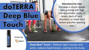 Deep Blue Touch 10ml Doterra Original + Envio Ultra Rápido