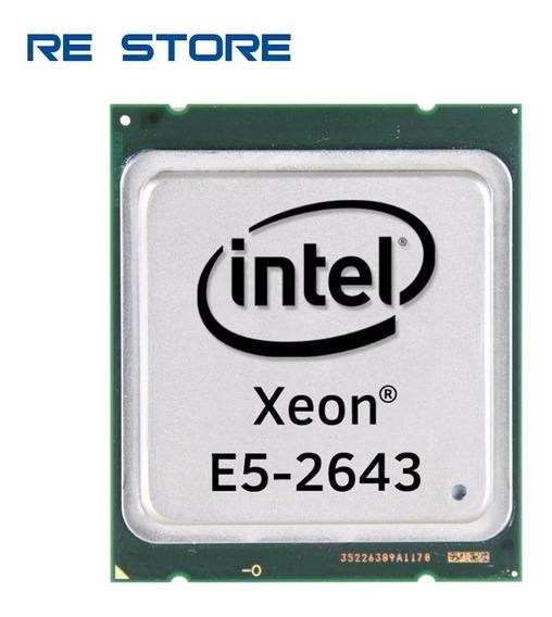 Intel Xeon E5 2643 Cpu 3.30ghz Lga 2011 Processador Quadcore