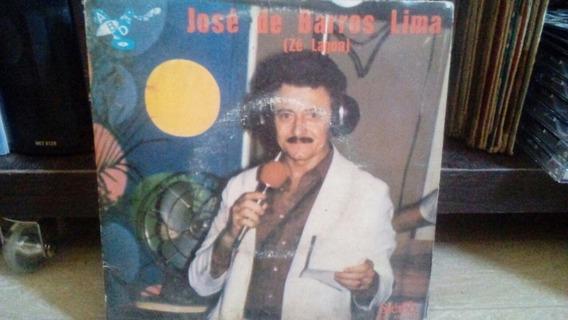 Lp Compacto Zé Lagoa Alegria Do Povão 1984