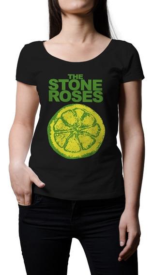 Remera Mujer Rock Stone Roses | B-side Tees