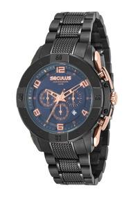 Relógio Seculus Masculino 20555gpsvia2