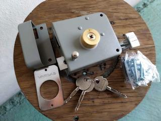 Chapa De Seguridad De Fácil Instalación Llave Tetra